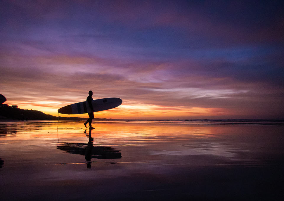 Water people: the mindfulness of surfing