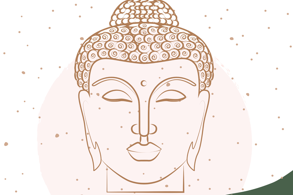 Buddha nature: lit from within