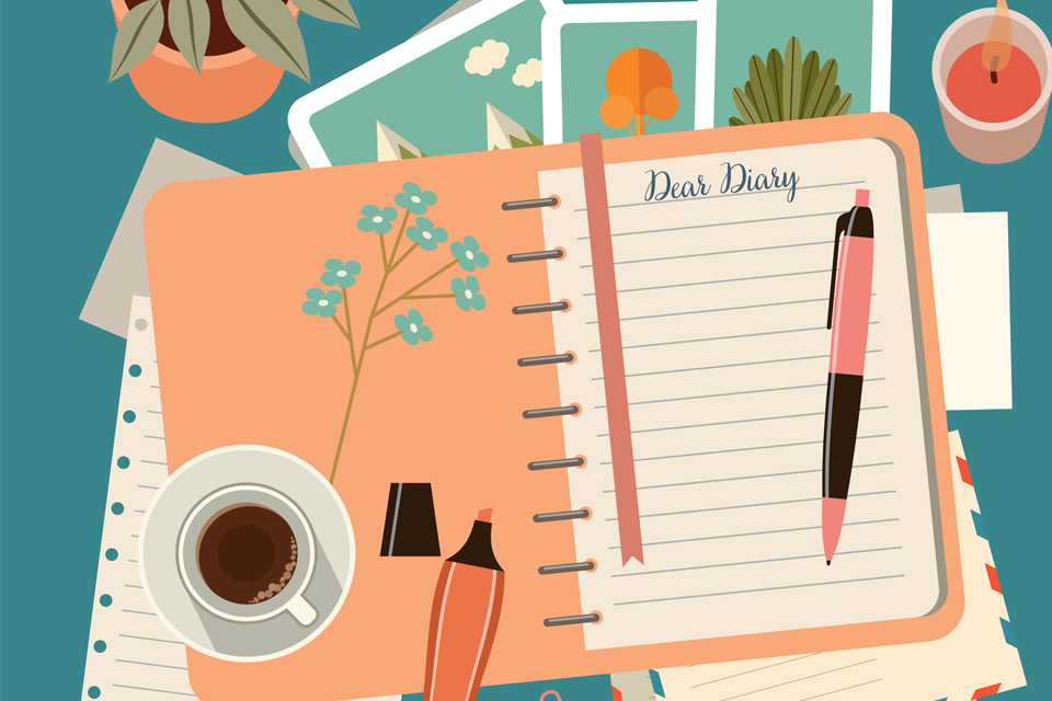 A values-journalling meditation
