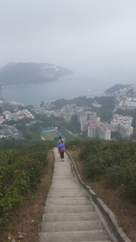 Stairs in Hong Kong